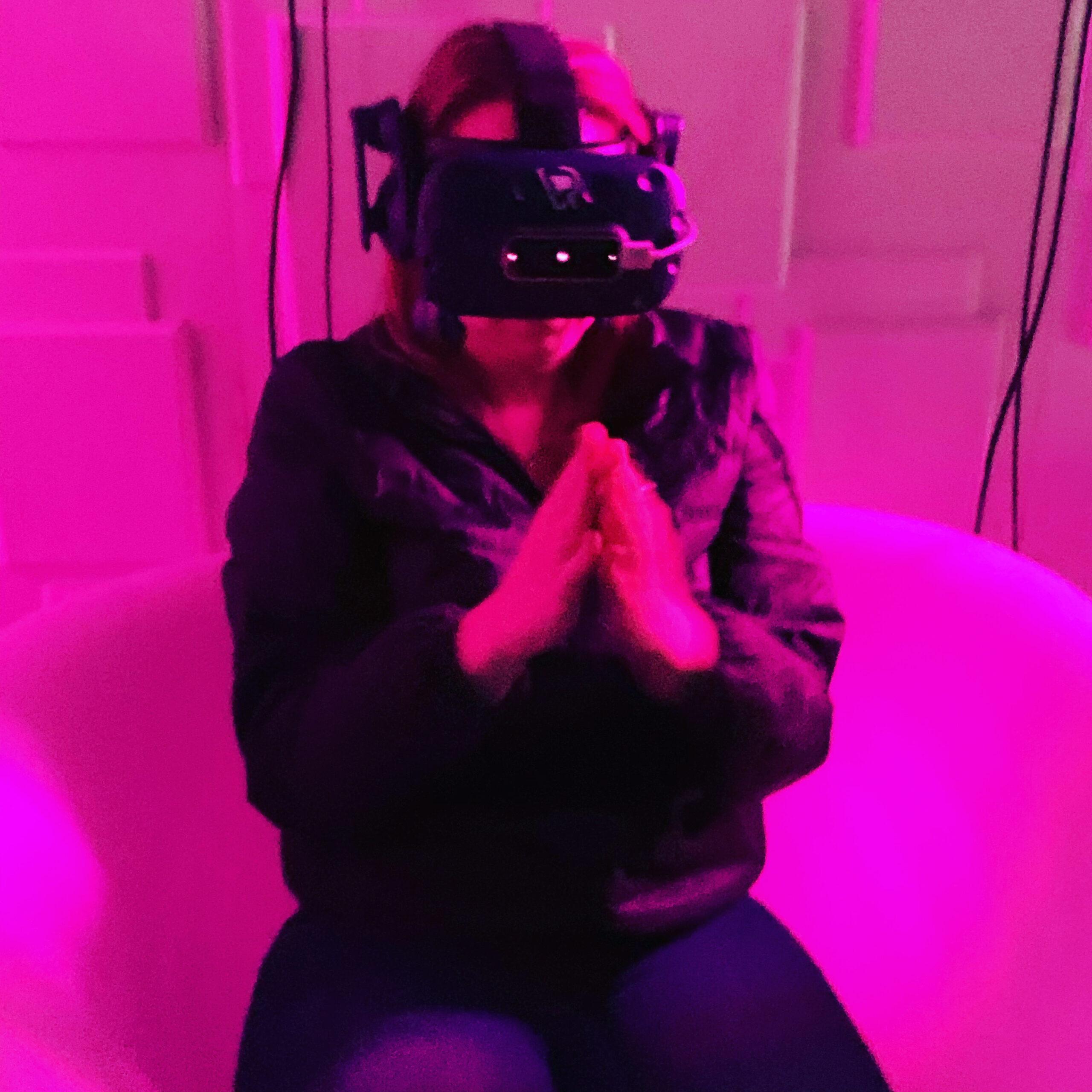 Playing VR